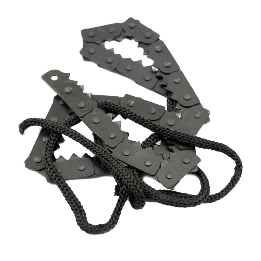 50cm Camping Hiking Emergency Survival Chain Saw Hand Tool Gear Pocket ChainSaw