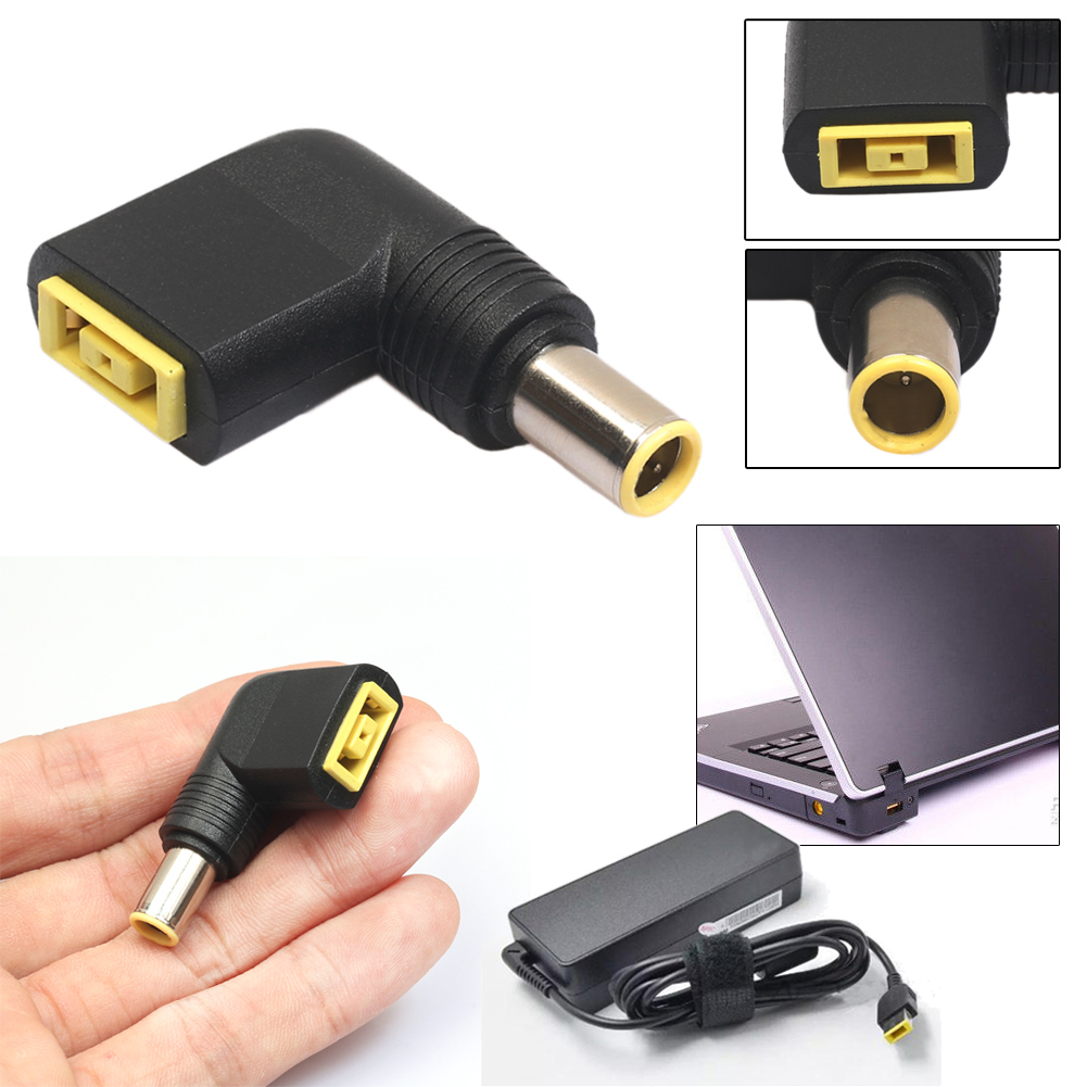 Converter 7.9x5.5mm Male to Square Female for Lenovo ThinkPad DC Charger Adapter