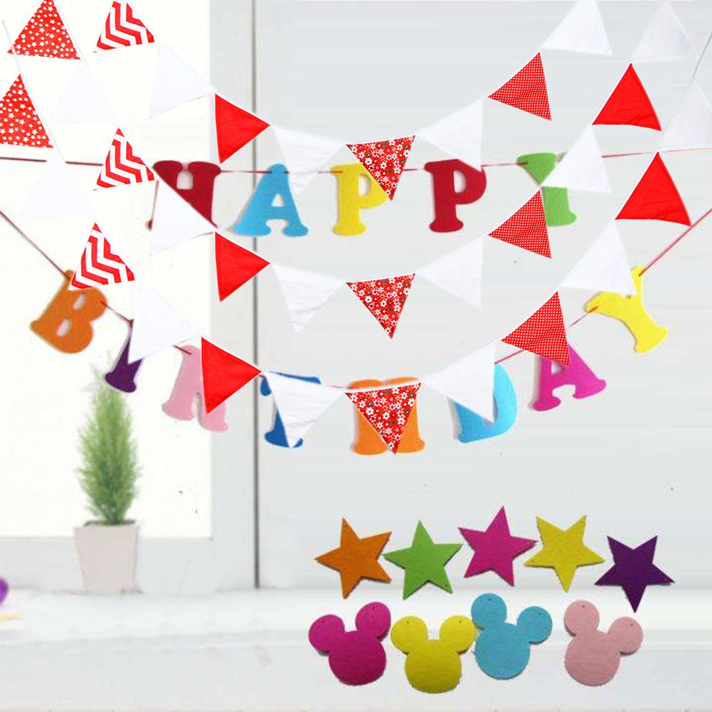 MAN UNITED  TEAM COLOURS BOYS BIRTHDAY BUNTING PARTY BANNER 12 FLAGS PENANTS