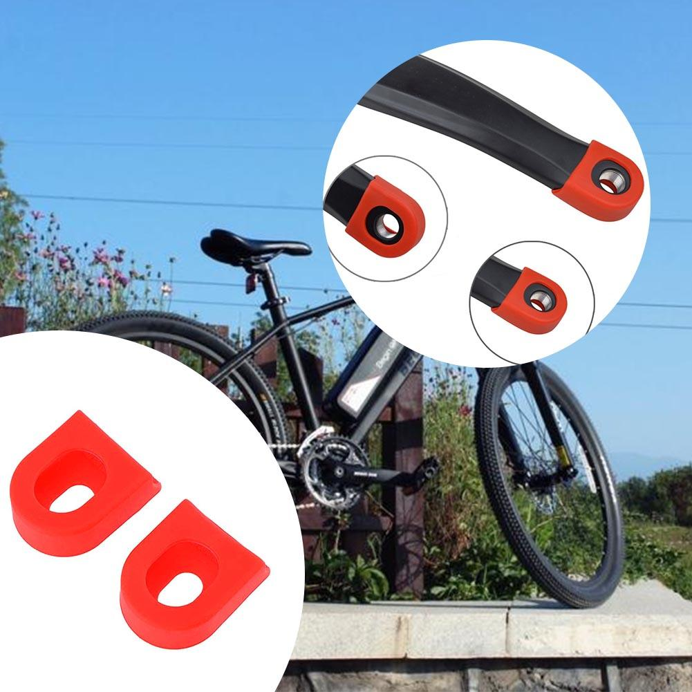 1Pair Mountain Bike Road Bicycle Cycling Crankset Crank-Protective Sleeve CovG$