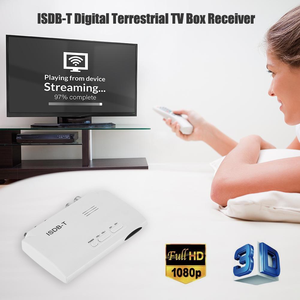 ISDB-T Digital Terrestrial Converter 1080P TV BOX Receiver  Video Receiver US