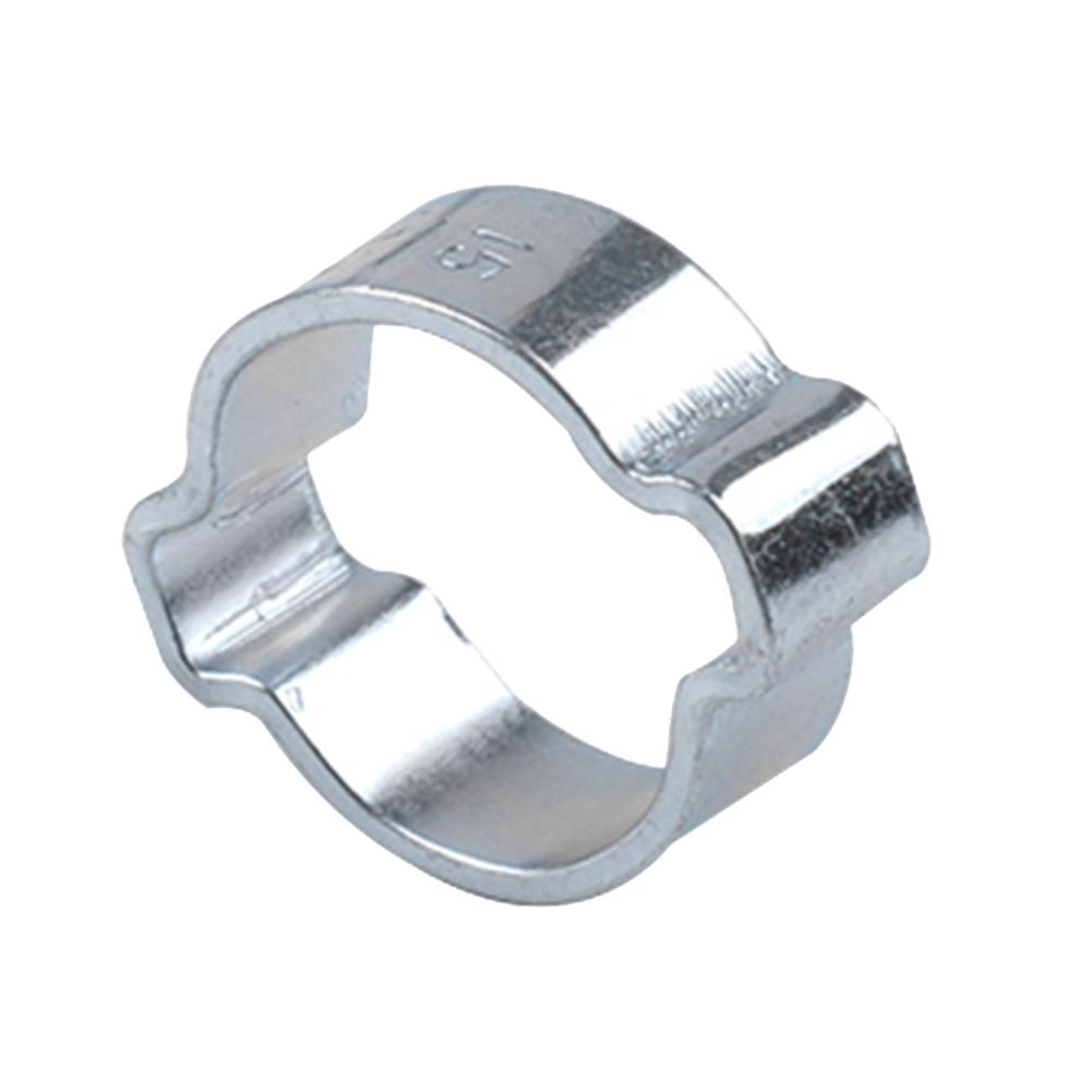 Air Zinc Plated Fuel Double Ear O Clips Mild Steel Hose Clamps Water Hose