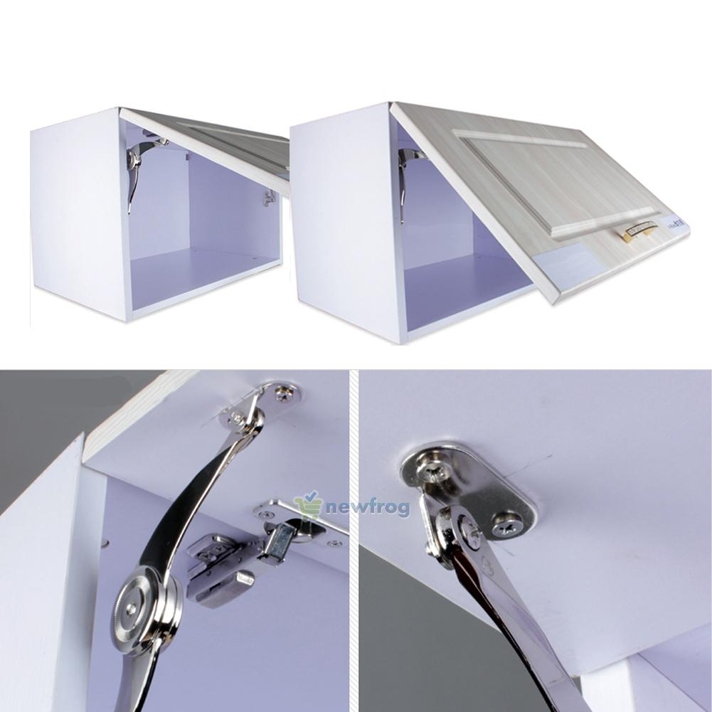 Lift Door Cabinet Hardware : Soft close lift up stay hinge concealed hardware door