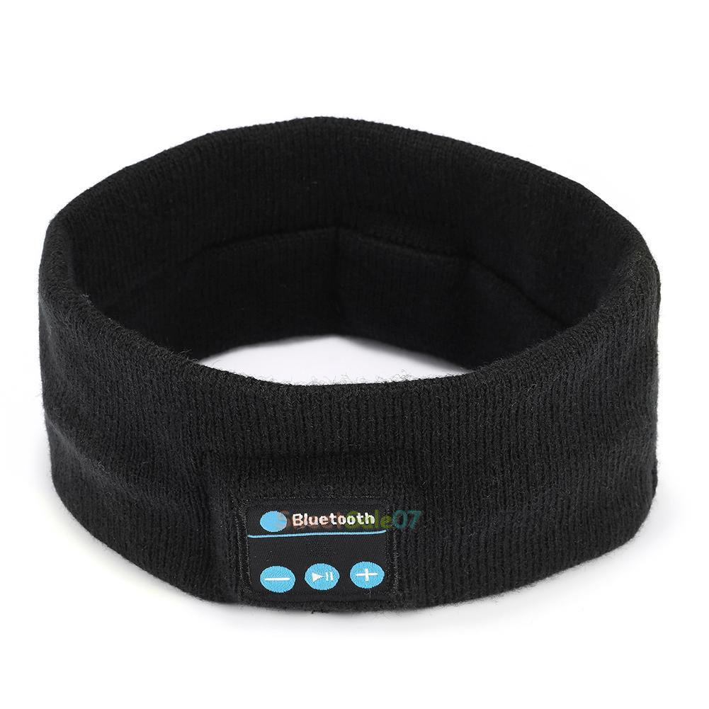 new wireless bluetooth stereo headphone sleep headset sports headband with mic ebay. Black Bedroom Furniture Sets. Home Design Ideas