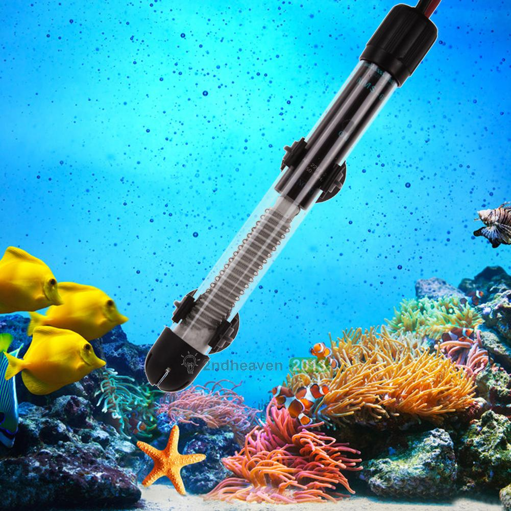 50w 100w 200w 300w Watt Submersible Aquarium Fish Tank Turtle Pond Water Heater Ebay