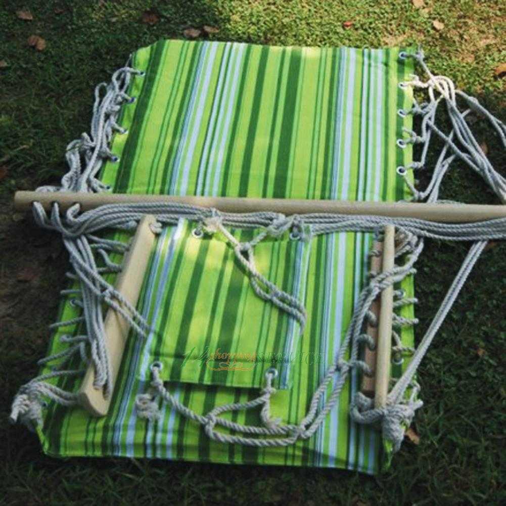 Garden Patio Porch Hammock Hanging Rope Swing Chair Seat