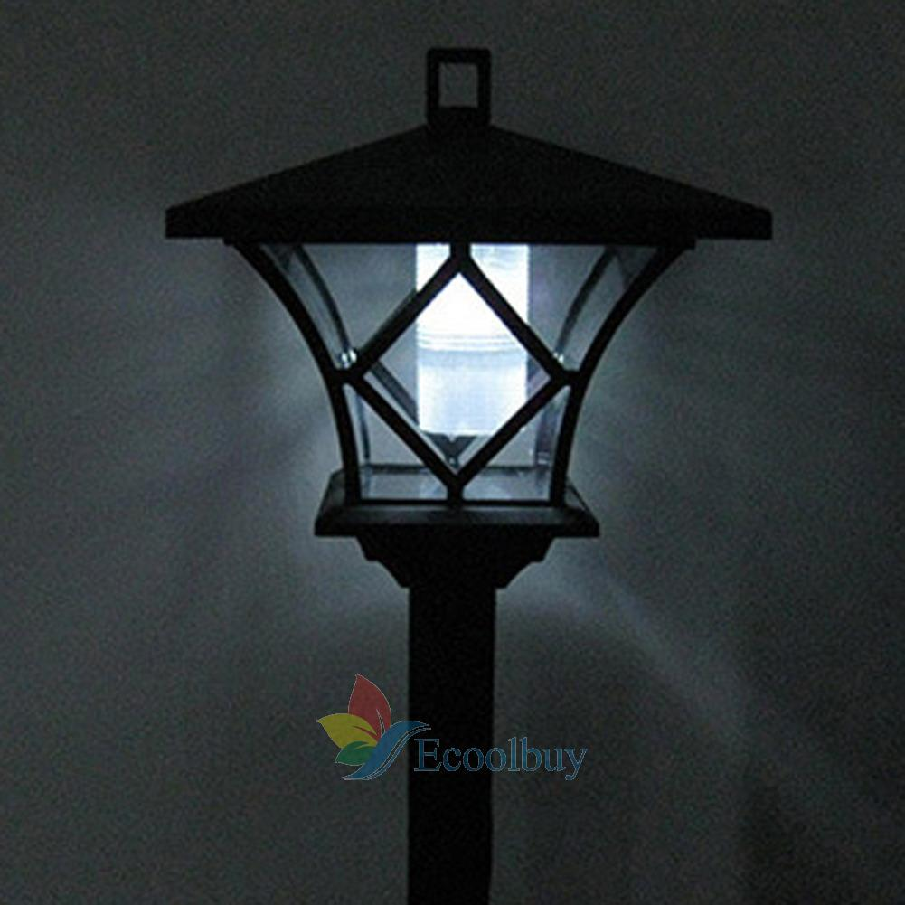 black led solar powered 5 ft traditional garden lamp post lamppost