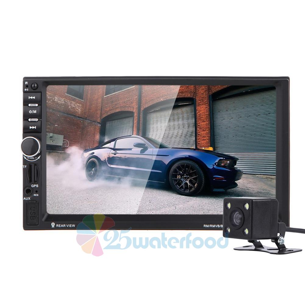 navigation 2din hd car stereo gps mp3 player bluetooth fm