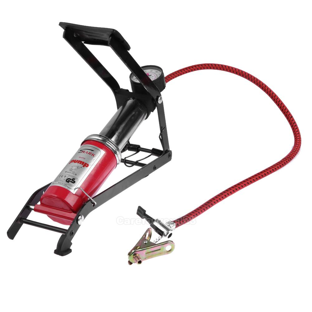 High Pressure Bicycle Car Foot Tire Pump Inflator