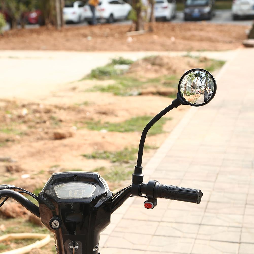 MTB Mountain Bike Rearview Mirror Bicycle Handlebar Convex Rear View Mirror