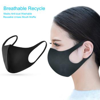 Breathable Recycle Masks Anti-dust Washable Reusable Unisex Mouth Muffle